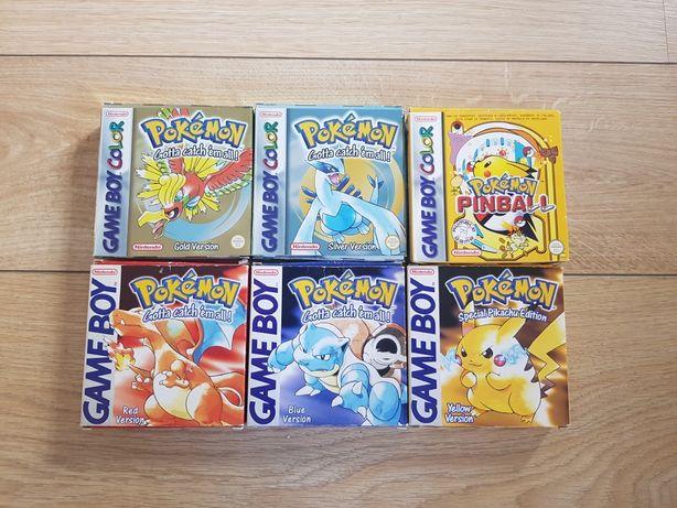 Jogos pokemon em caixa original