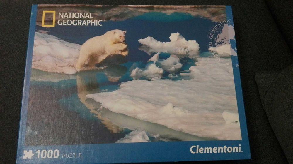 Puzzle Miś polarny National Geographic 1000 el. Clementoni Rzeszów - image 1