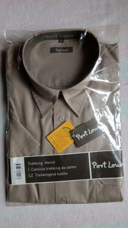 Сорочка 100% хлопок Port Louis, Banglades, безрукавка, шведка мужская