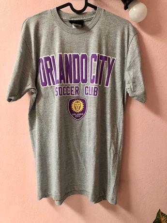T Shirt Football Soccer MLS ORLANDO CITY (M) portes gratuitos
