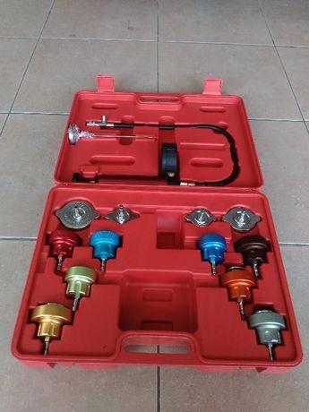 Conjunto Teste circuitos de agua + Ferramenta Purgadora+Tete junta