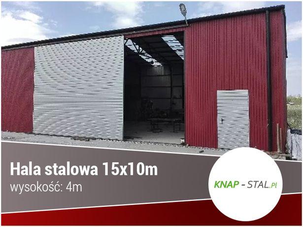 Garaż Blaszany - Wiata , Hala , Magazyn , Garaże blaszane - KnapStal