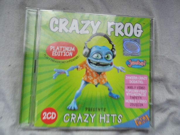 Crazy Frog Crazy Hits Platinum Edition 2005 2CD