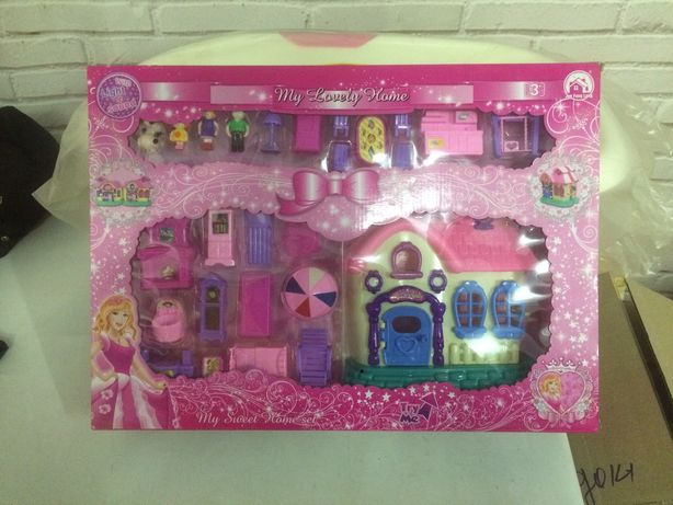 Детские игровые домики большой и маленький