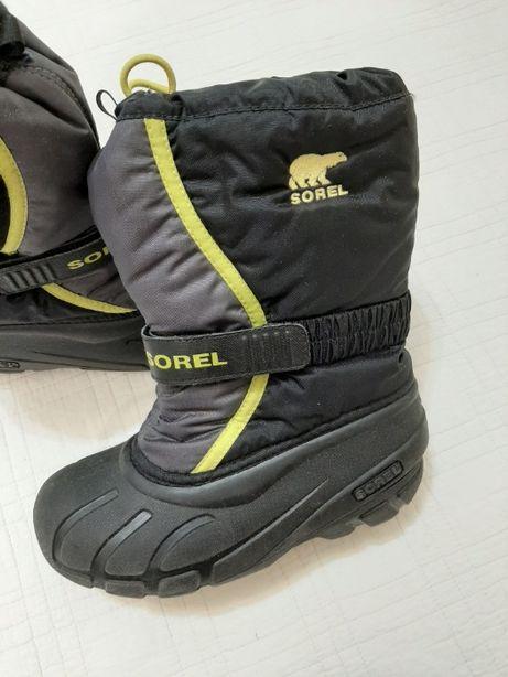Оригинал сапоги, ботинки, снегоходы Sorel р. 33 (20-21 см)