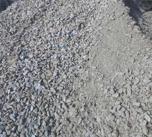 Kruszywo piasek pospółka żwir transport wywrotka 5 ton i 25 ton