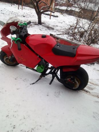 Детский мотоцикл на бензине
