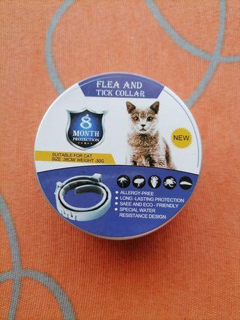 Coleira anti parasitária gato