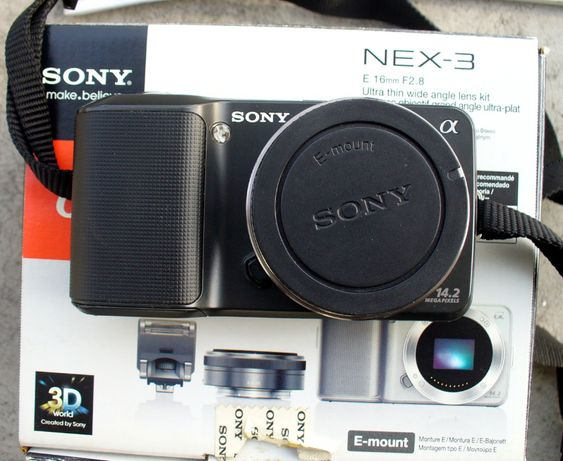 Aparat fotograficzny (mirrorless) Sony NEX-3
