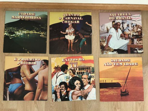 6 Vinil - Coletânea ''Os maiores sucessos do Brasil''