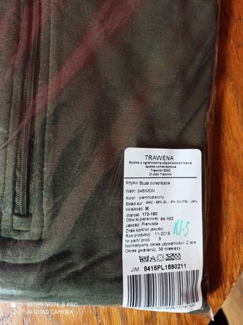 Bluza ocieplająca wz 546 roz M Nowa!!