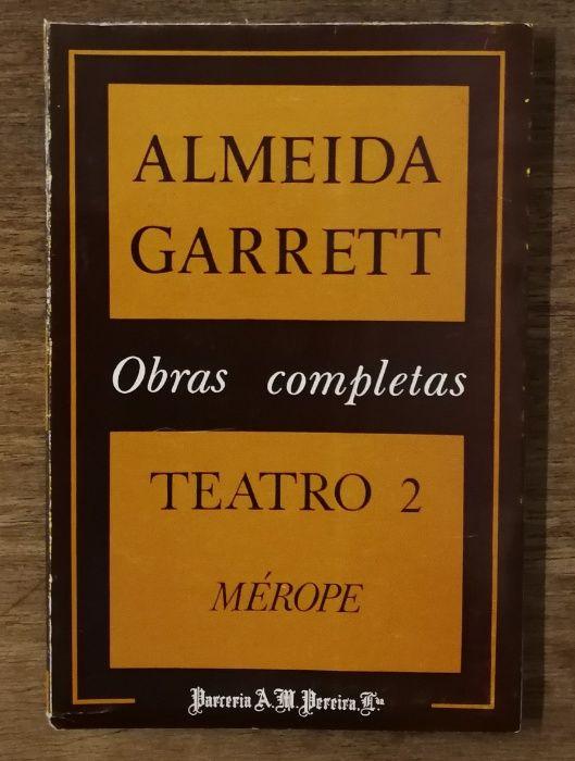 almeida garrett, obras completas, teatro 2 mérope Estrela - imagem 1