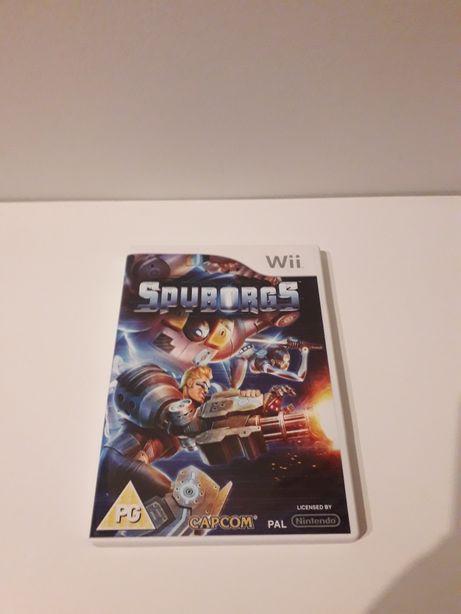 Jogo Wii Spyborgs