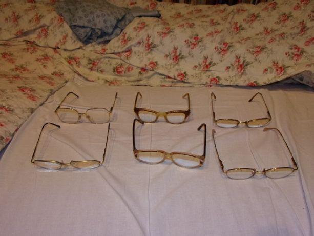 Okulary korekcyjne (kilka par).