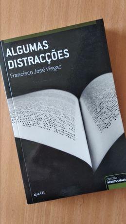 Livro - Algumas distracções de Francisco José Viegas