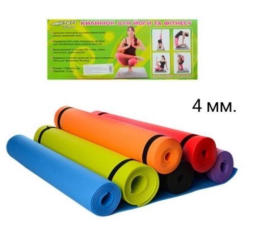 Легкий,прочный фитнес-йога коврик EVA в трех размерах