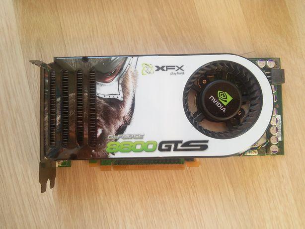 Видеокарта Nvidia GeForce 8800 GTS (XFX) 320MB DUAL DDR3 (неисправна)