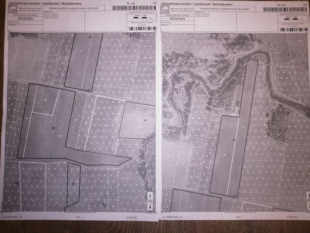 Sprzedam 4,8 ha łąki/pola uprawne