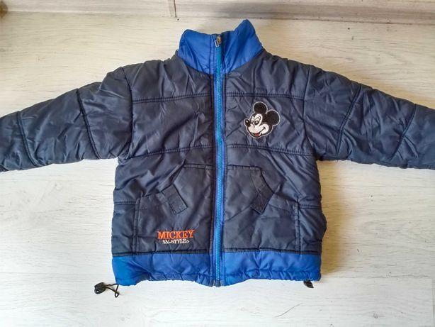 Зимняя куртка для двора на 5-8 лет.