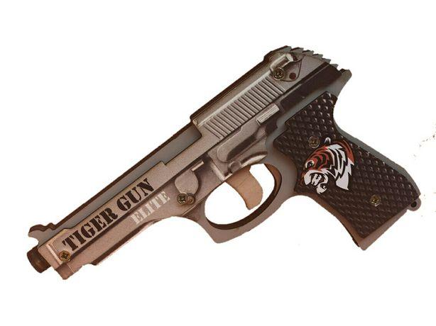Пистолет резинкострел Подарок Фанера Игрушка для мальчиков. Пістолет
