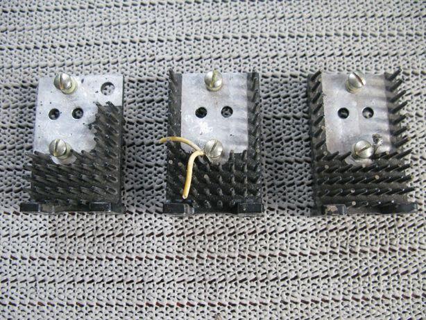 Радиатор для транзистора КТ838, КТ846 и др. (корпус КТ-9 (ТО-3)