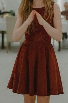 Sukienka rozmiar 34 bordowa wesele urodziny