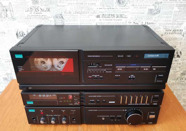 Wieża stereo Sansui zestaw A-M70 T-M70 D-M50F