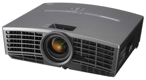 PANORAMICZNY Projektor Rzutnik MITSUBISHI HD1000 HDMI 1280x720 16:9