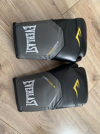 Nowe Rękawice bokserskie Everlast pro style elite skora ekologiczna