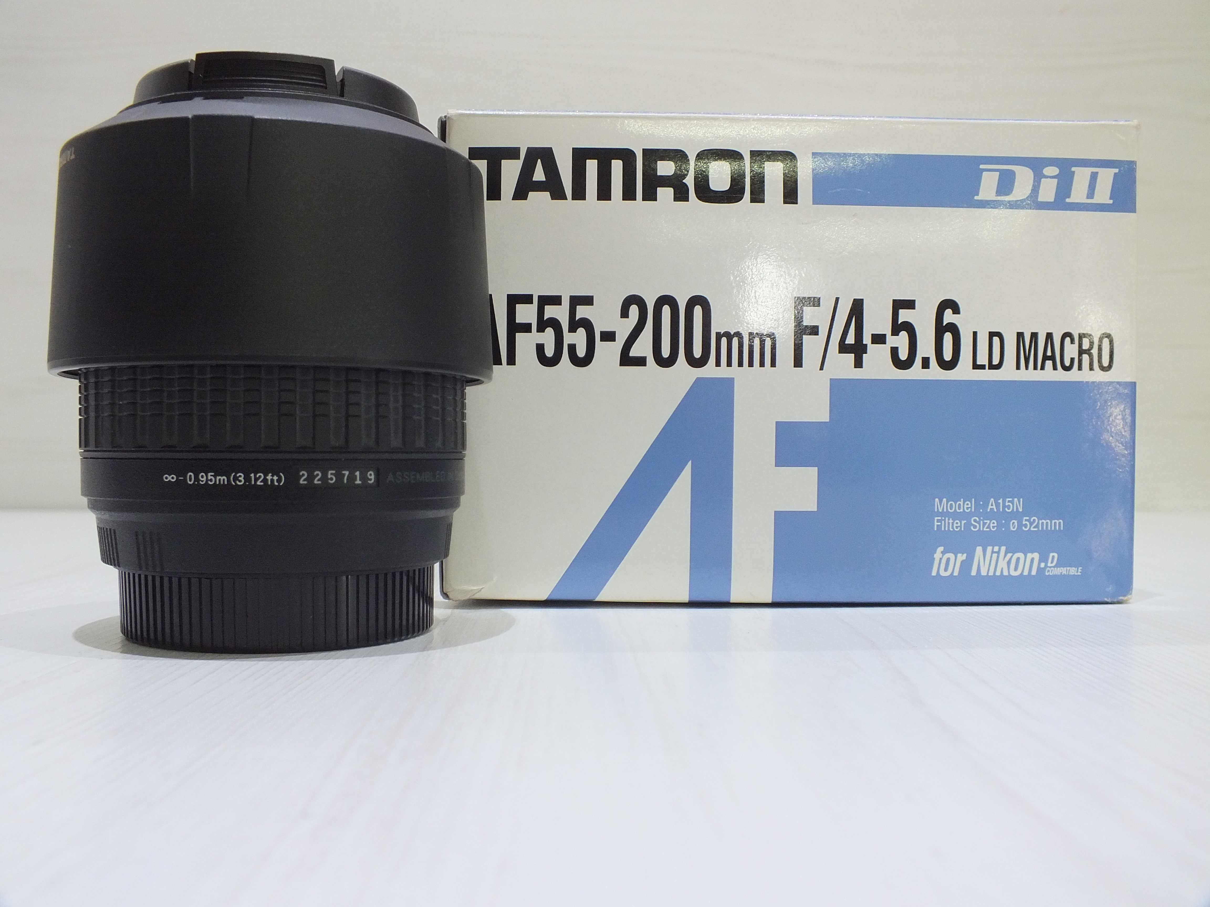 **Obiektyw TAMRON AF 55-200mm-Lombard Stówka**