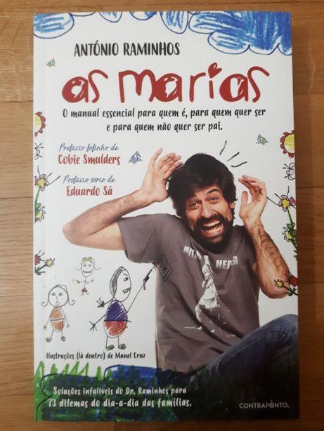 """Livro """"As Marias"""" de António Raminhos autografado"""
