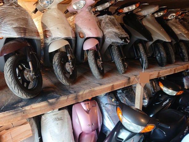 Японськi скутери, мопеди без пробiгу