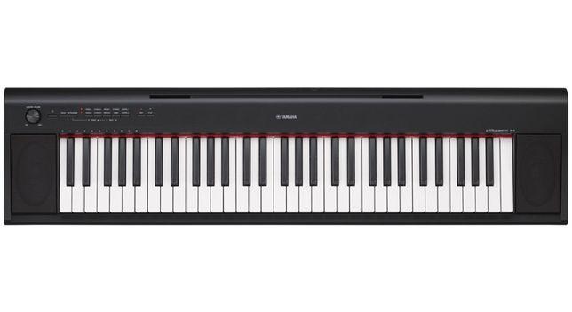 Pianino cyfrowe Yamaha NP12 BK czarny Nowe Piaggero
