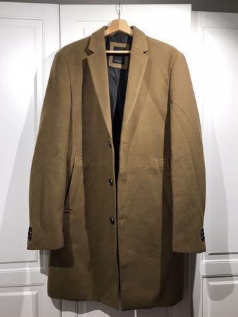 Płaszcz brązowy marki NEW LOOK rozmiar L