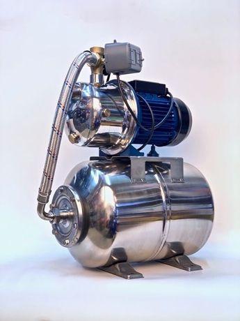 Насос, помпа, насосная станция 1/1 кВт нержавейка.