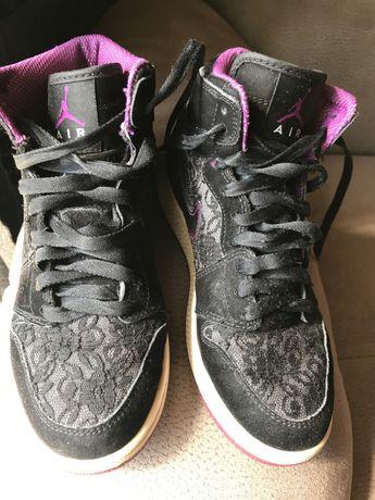 Nike Air Jordan ORIGINAIS pretos de renda | 36,5 mulher
