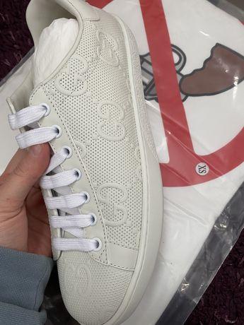 Кеды кроссовки гучи gucci в наличии брендовые