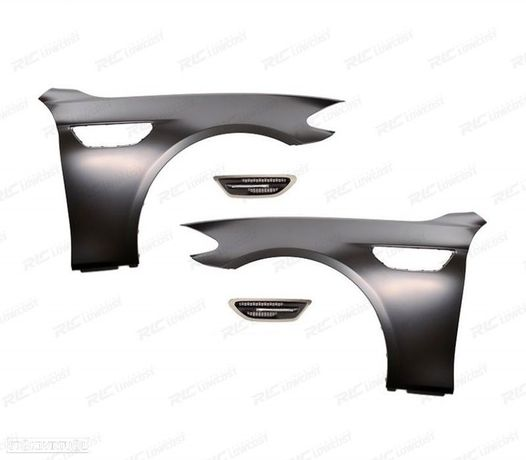 PACK GUARDA LAMAS LOOK M5 BMW SERIE 5 F10 / F11 10-17 BERLINA / TOURING