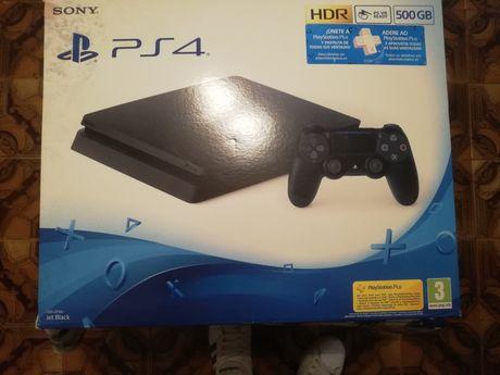 Playstation 4 slim 500gb c/ comando