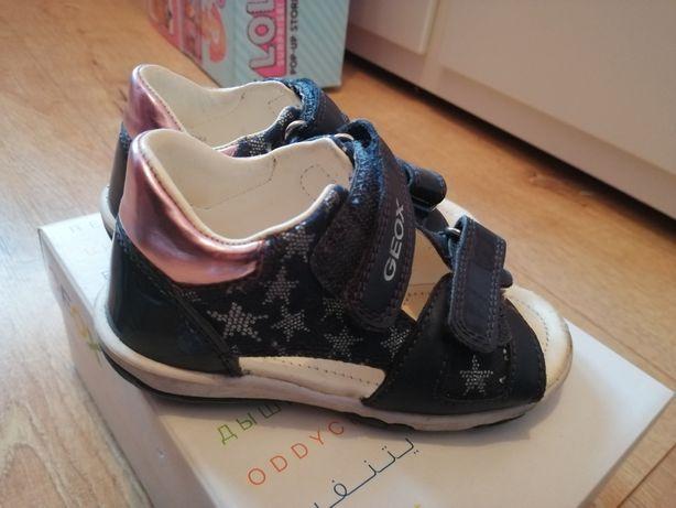 Sandały geox dla dziewczynki 15 cm