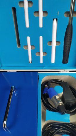 Индукционный нагреватель, индуктор, удаление вмятин, PDR