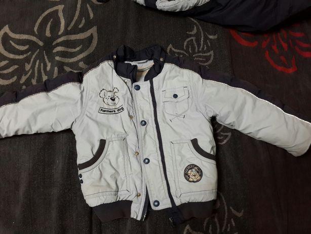 Зимний комбинезон комплект куртка на мальчика