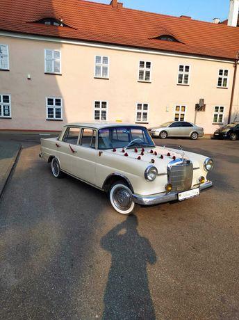 Auta do ślubu , Mercedes W110 , Nestor Spider.