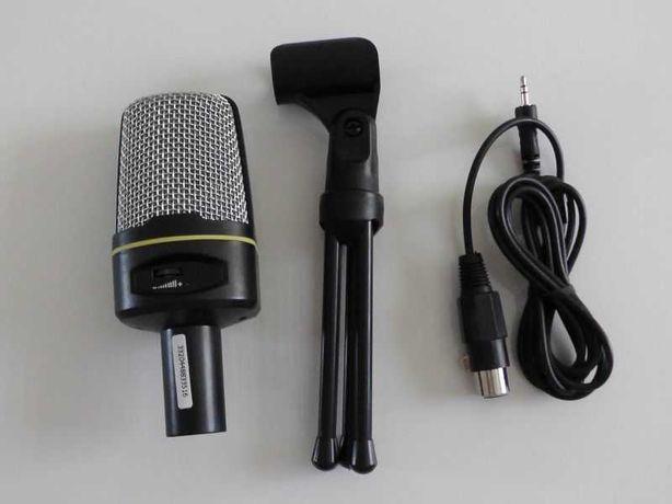 Mikrofon Tracer Screamer 3,5mm + Statyw + 2m kabel XLR