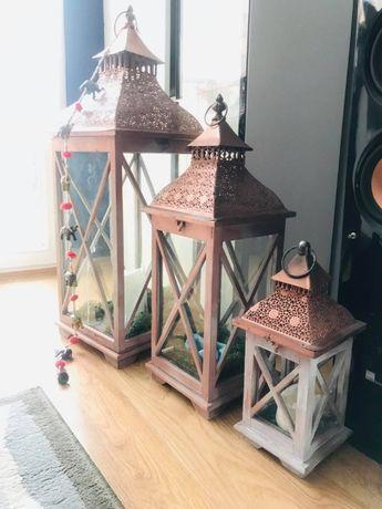 Romantyczne lampy świecowe