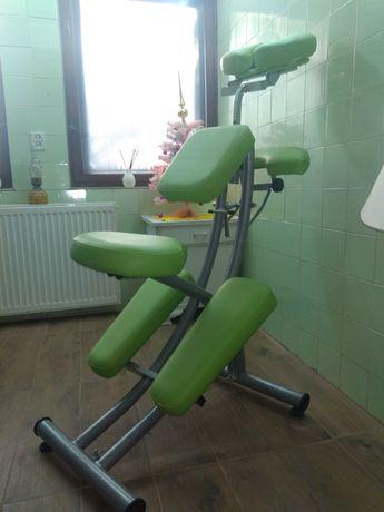 Fotel do wykonywania masażu