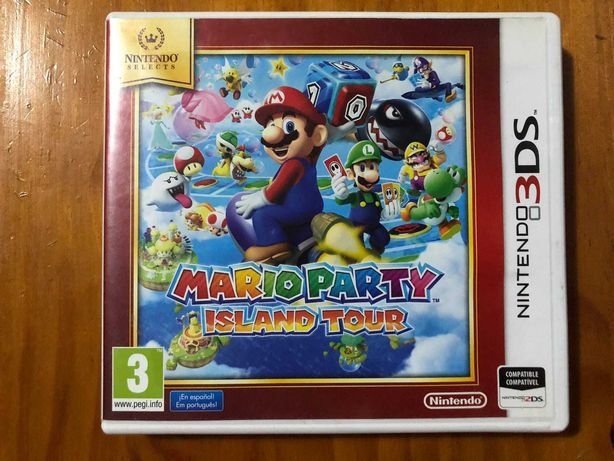 Mario Party Island Tour | Nintendo 3DS | Completo