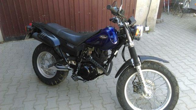 Yamaha TW 125 Zarejestrowany, kat.A1.B