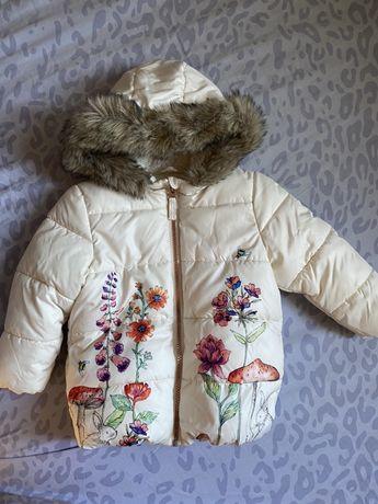 Куртка зимняя next на деочку оригинал