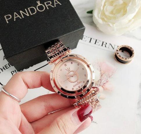 Стильные женские часы Pandora наручные красивые оригинальные на руку